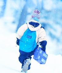 Finnish schoolchild