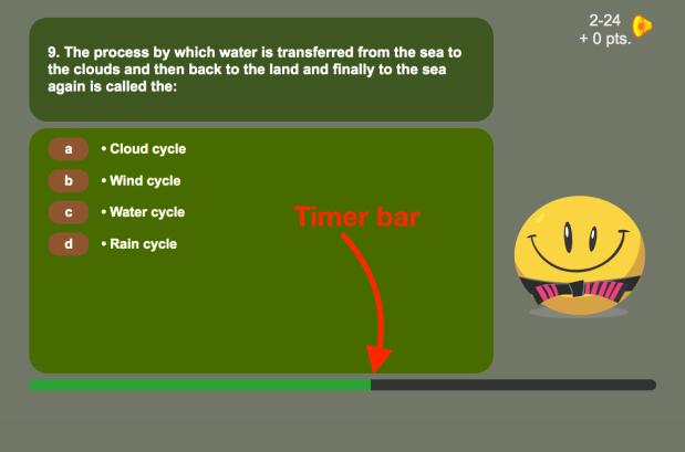 timer bar